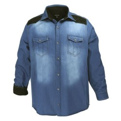 Jeanshemd in Übergröße blau 3 XL, 5 XL, 6 XL, 7 XL