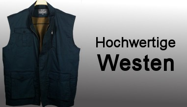 Hochwertige Westen
